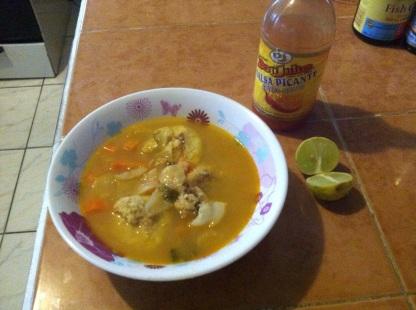 Sopa de Mariscos -- Seafood Soup