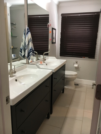 The new entry for the bathroom